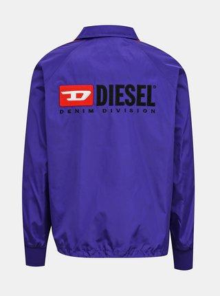 Fialová pánska bunda Diesel