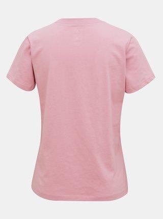 Ružové dámske tričko Converse