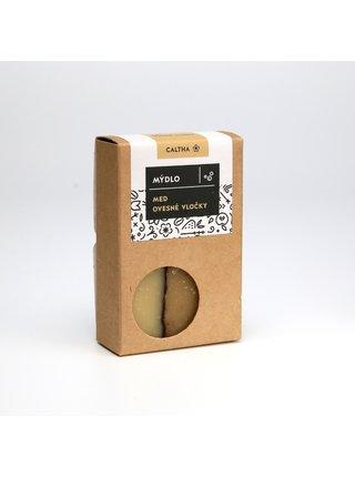 Caltha Tuhé mýdlo Med a ovesné vločky 100 g