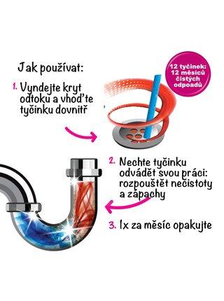 Ecozone Tyčinky na čištění odpadů 12 ks