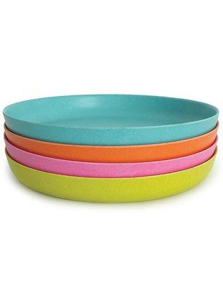 Ekobo Dětský talíř střední Persimmon
