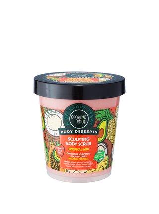 Organic Shop Body Desserts Tělový peeling proti celulitidě Tropický mix 450 ml