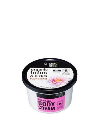 Organic Shop Tělový krém Indický lotos 250 ml