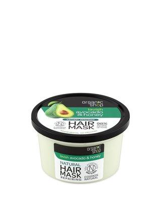 Organic Shop Regenerační maska na vlasy Avokádo a Med 250 ml