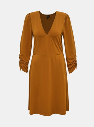 Hnedé šaty VERO MODA Alberta