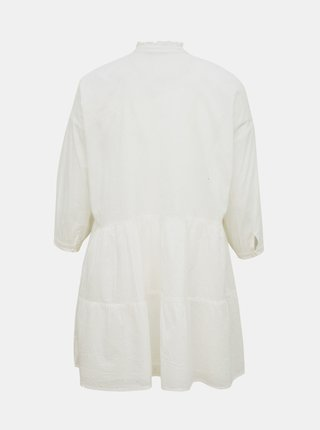Bílé volné košilové šaty AWARE by VERO MODA Leah