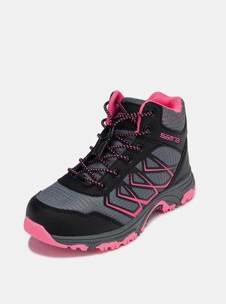 Černé holčičí boty SAM 73 Gaburo