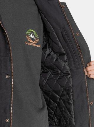 Čierna zimná bunda Quiksilver