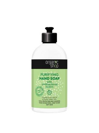 Organic Shop Tekuté mýdlo na ruce s antibakteriálními účinky 500 ml