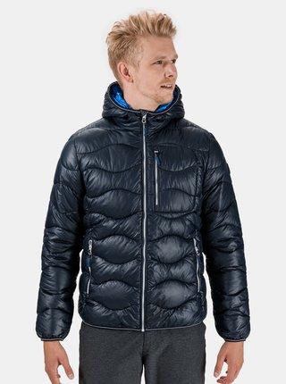 Tmavě modrá pánská zimní prošívaná bunda SAM 73 Jeremy