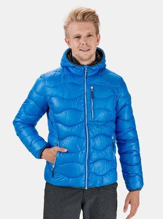 Modrá pánská zimní prošívaná bunda SAM 73