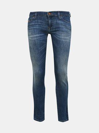 Modré dámské skinny fit džíny Diesel