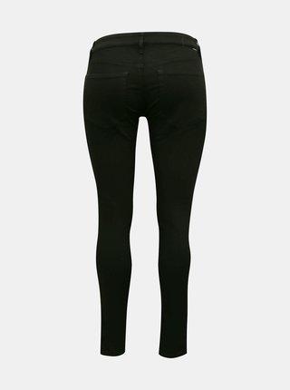 Černé dámské skinny fit džíny Diesel