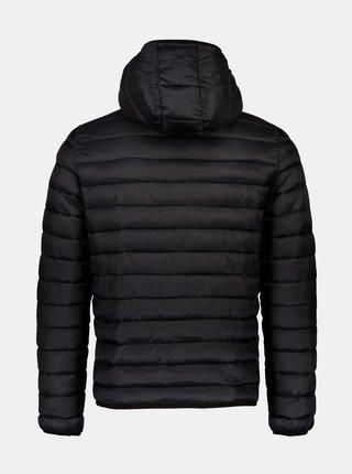 Čierna zimná prešívaná bunda Shine Original