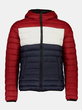 Červená zimná prešívaná bunda Shine Original