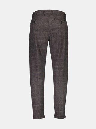 Šedé kostkované kalhoty Shine Original