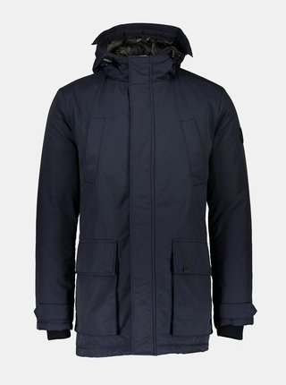 Tmavě modrá zimní bunda Shine Original