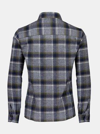 Modro-šedá kockovaná košeľa Lindbergh