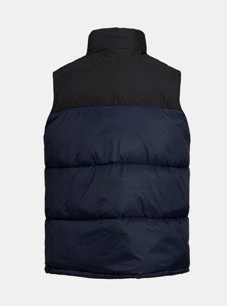 Tmavomodrá prešívaná vesta Jack & Jones Drew