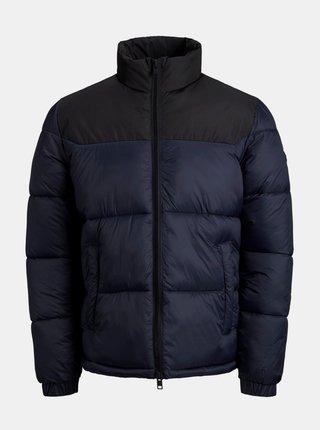Tmavě modrá prošívaná bunda Jack & Jones Drew