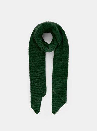 Zelený šál Pieces Pyron