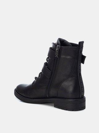Čierne členkové topánky Xti