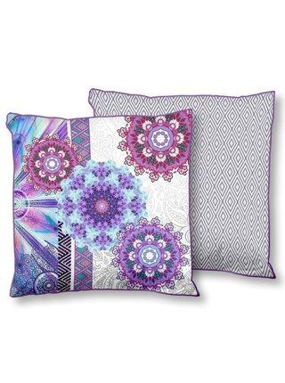 Home barevný dekorativní polštář s výplní Hip Jayanti 48x48cm