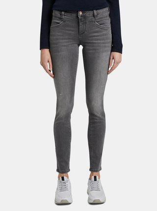 Šedé dámské skinny fit džíny Tom Tailor