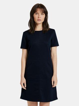 Tmavě modré dámské šaty Tom Tailor