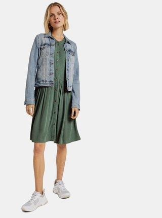 Zelené dámske šaty Tom Tailor Denim