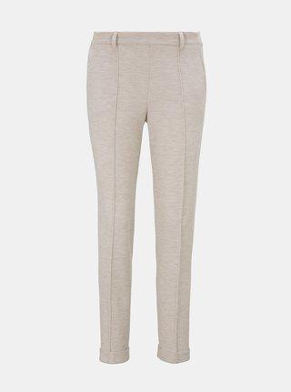 Béžové dámské kalhoty Tom Tailor