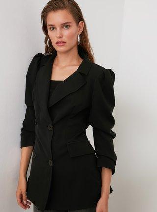 Černé sako Trendyol