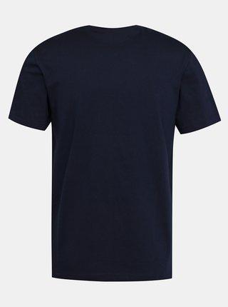 Tmavomodré pánske basic tričko Lacoste