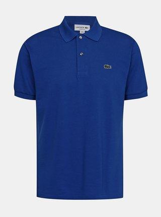 Modré pánské polo tričko Lacoste