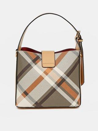 Světle hnědá vzorovaná kabelka Bessie London
