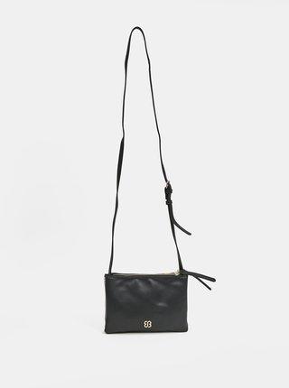 Hnedo-čierna pruhovaná crossbody kabelka Bessie London