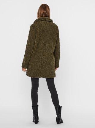 Kaki zimný kabát Noisy May Gabi