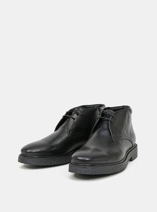 Černé pánské kožené polobotky Vagabond Shoemakers