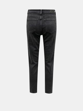 Tmavě šedé straight fit džíny Jacqueline de Yong Kaja