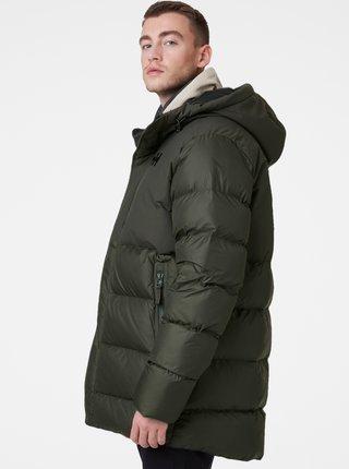 Tmavě šedá pánská zimní prošívaná bunda HELLY HANSEN