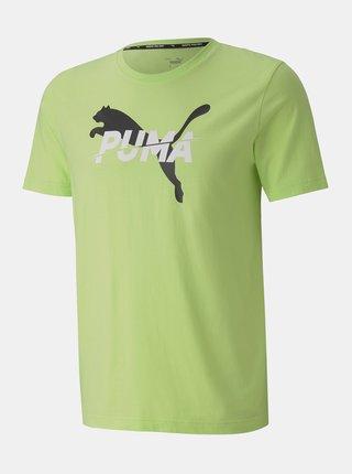 Zelené pánske tričko Puma
