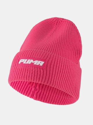 Růžová dámská čepice Puma