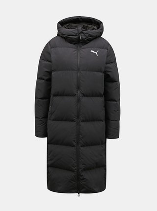 Čierny dámsky zimný kabát Puma