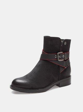 Černé dámské kotníkové boty Wrangler Vanys