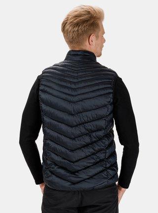 Tmavě modrá pánská prošívaná vesta SAM 73