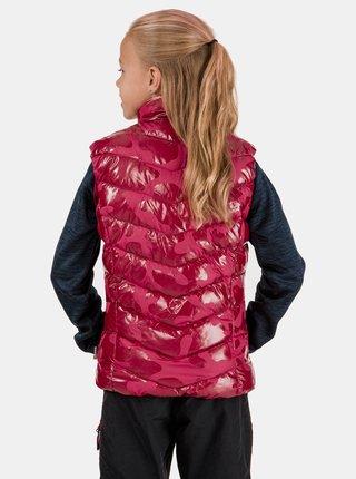 Růžová holčičí vesta SAM 73 Becky