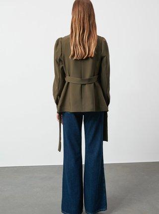 Khaki dámské sako Trendyol