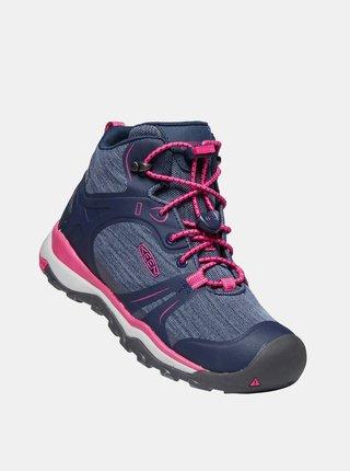 Modré holčičí kotníkové boty Keen Terradora