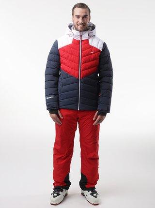 Červeno-modrá pánska lyžiaska bunda LOAP Olto
