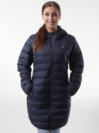 Tmavomodrý dámsky prešívaný kabát LOAP Itasia